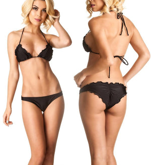 Black - Allure Bottom & Top SET