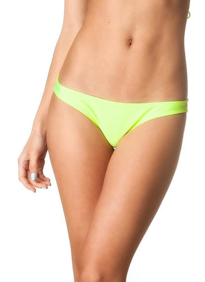 NeonYellow Allure Bottom & Triangle Top SET