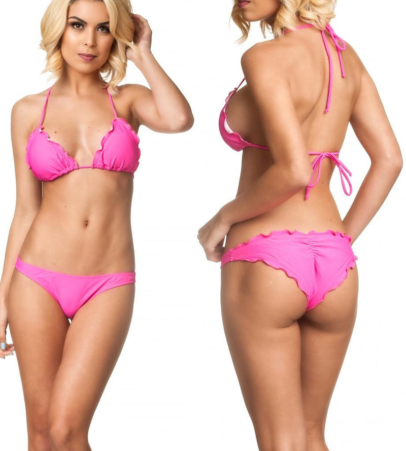 HotPink - Allure Bottom & Top SET