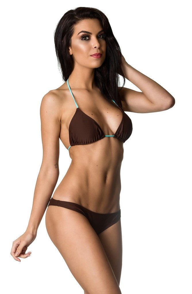 Hipster Bottom & Top SET - Brown