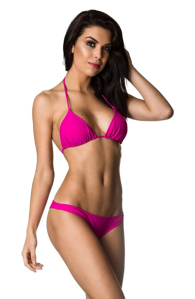 Hipster Bottom & Top SET - Fuchsia