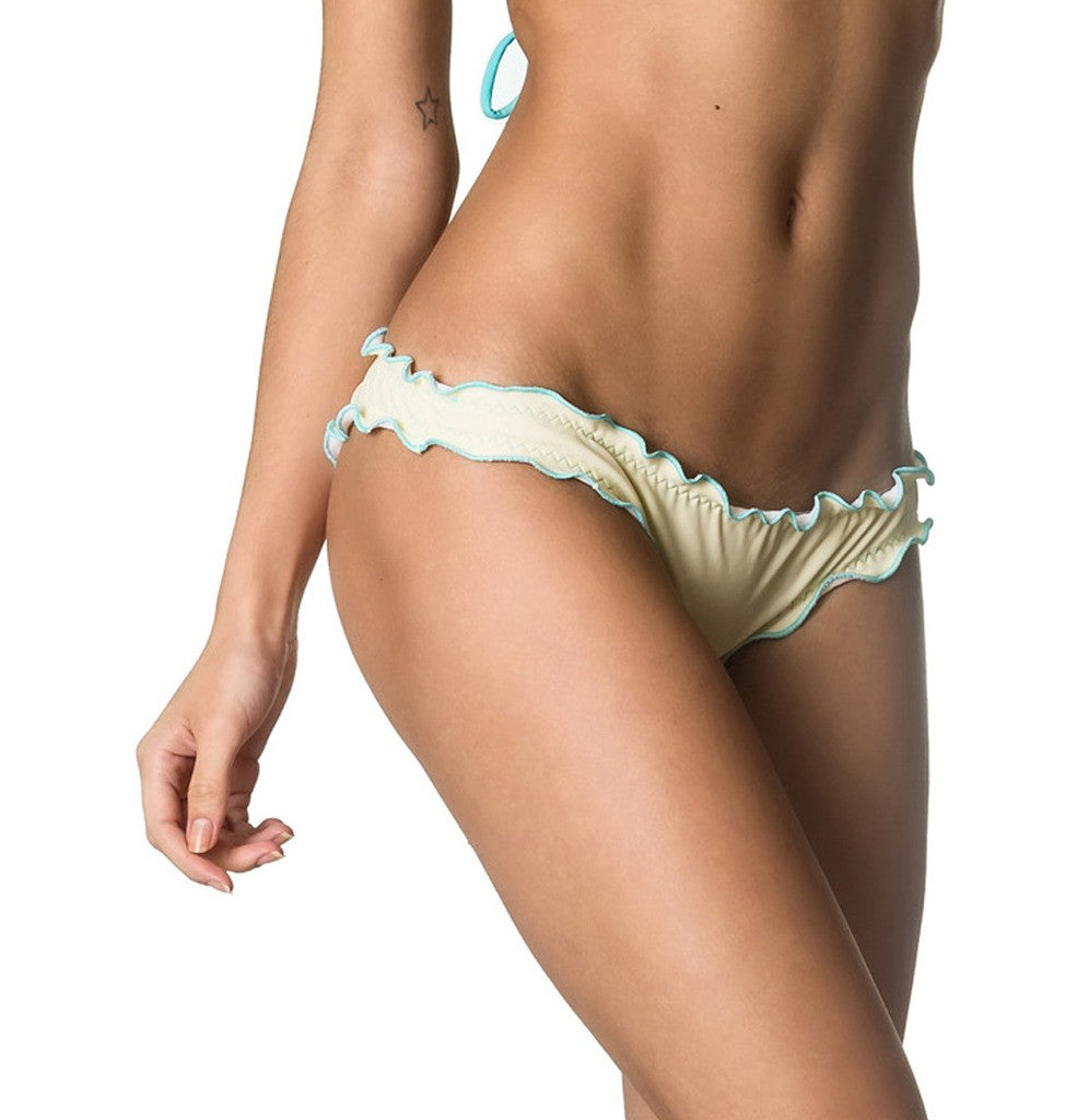 Samba Ruffles Bottom & Top SET - Ivory