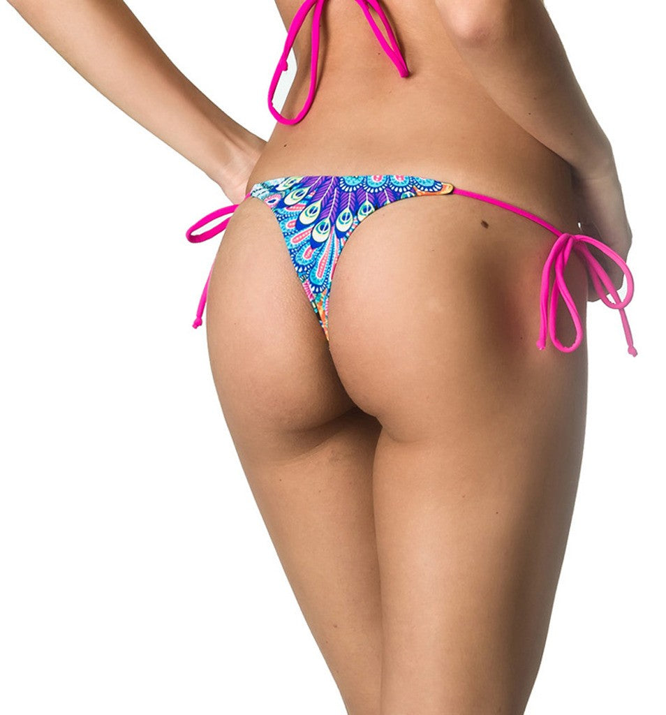 Peacock - Teeny Thong Whaletail Bottom
