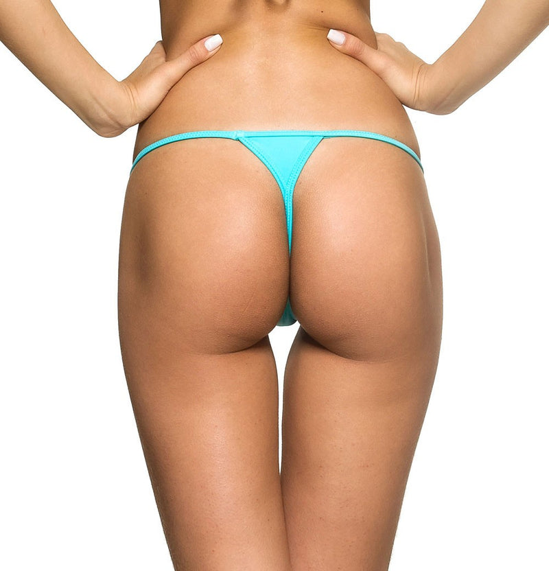 Aqua - Micro Thong Bottom