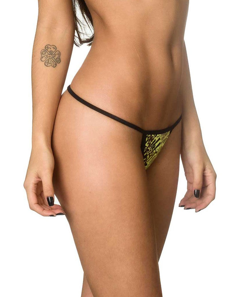 Micro Thong Bottom - Bamboo