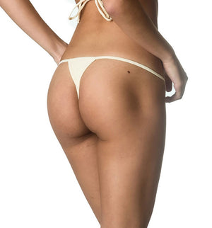 Micro Thong Bottom - Ivory