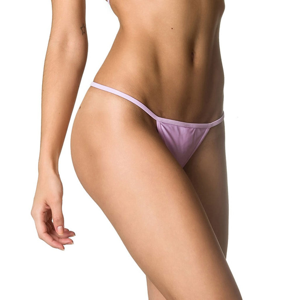 Lavender  - Micro Thong Bottom