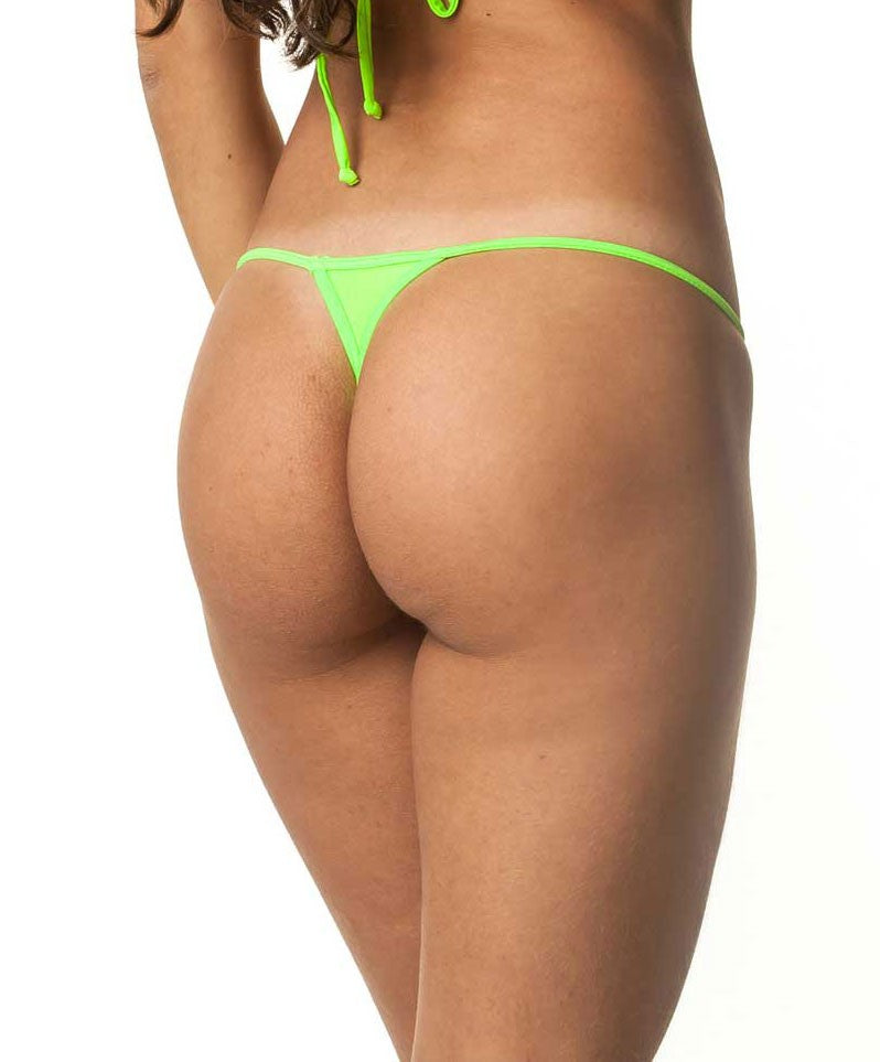 Neon Green- Micro Thong Bottom
