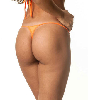 Orange - Micro Thong Bottom