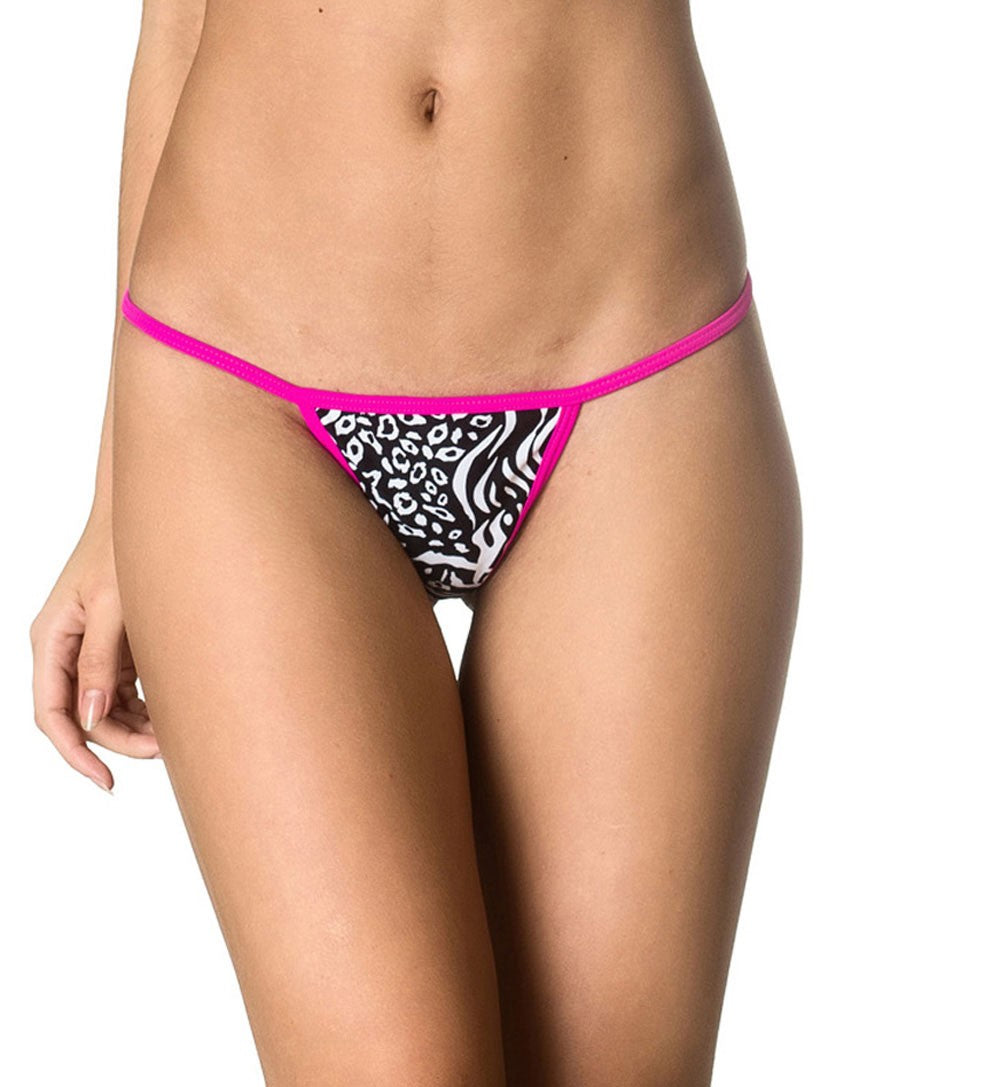 Micro Thong Bottom - Wild Pink