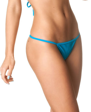 Turquoise - Micro Thong Bottom