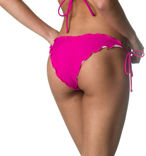 Ruffles Bumbum Bottom - Fuchsia
