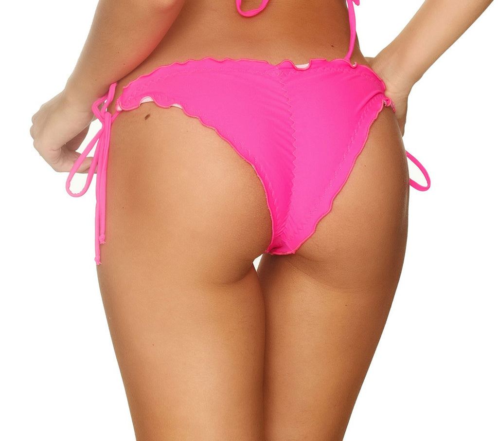 Ruffles Bumbum Bottom - Pink