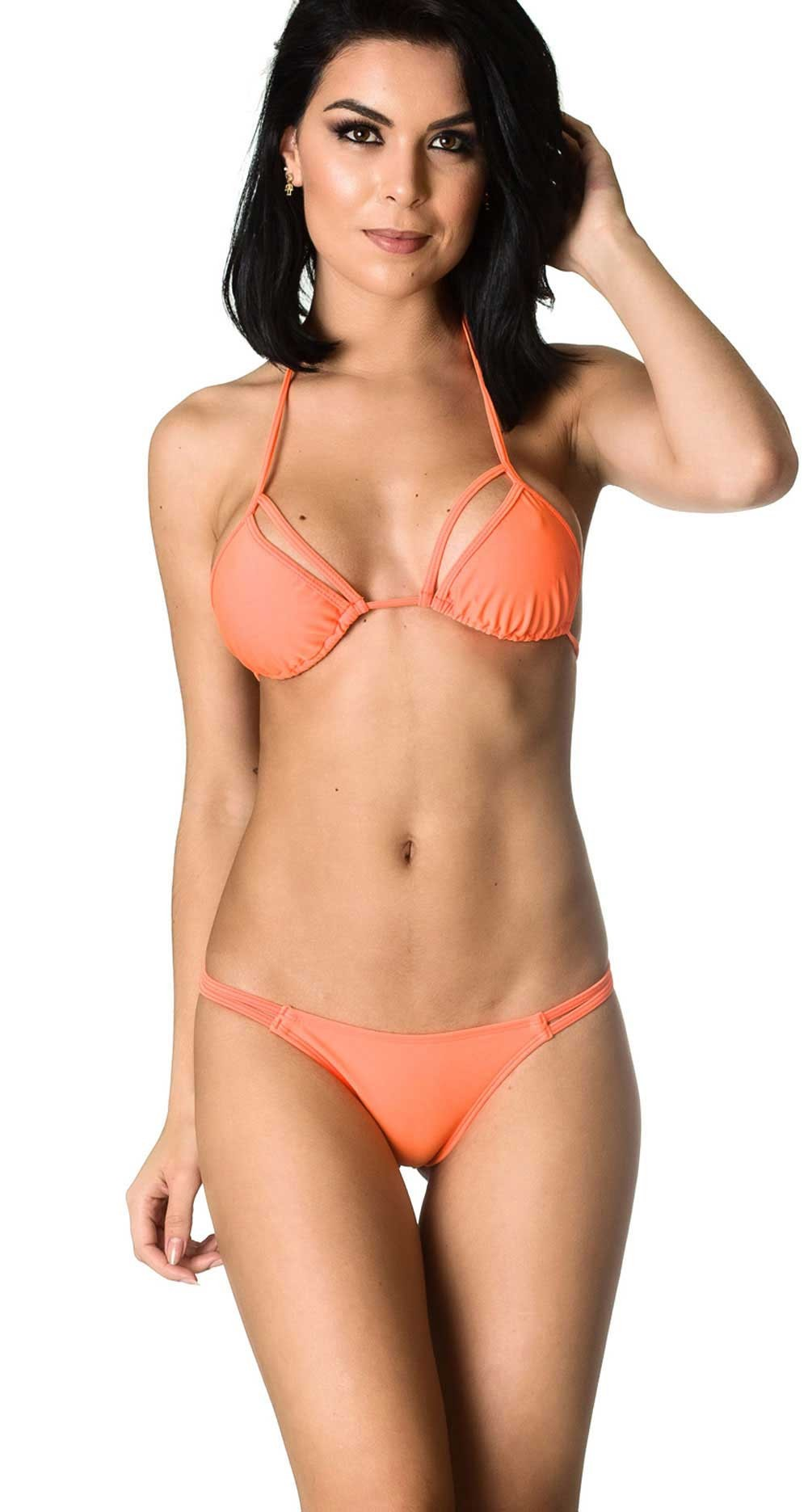 Rumba Bottom & Unpadded Top - Orange