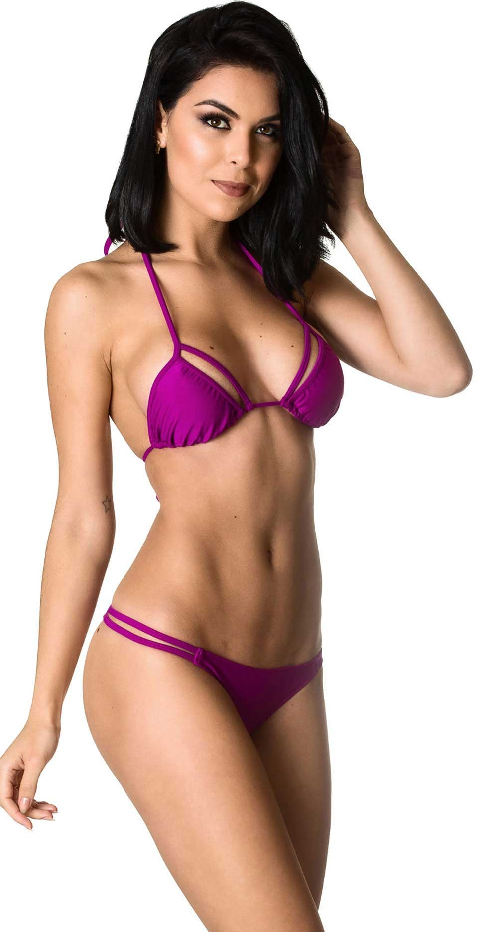 Rumba Bottom & Unpadded Top - Purple
