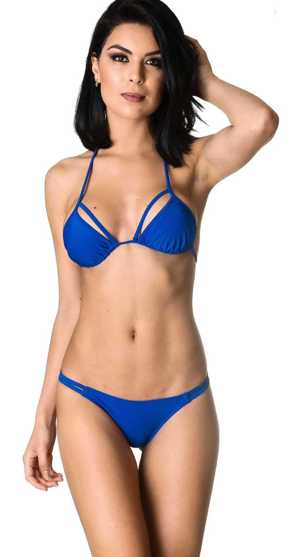 Rumba Bottom & Unpadded Top - Royal