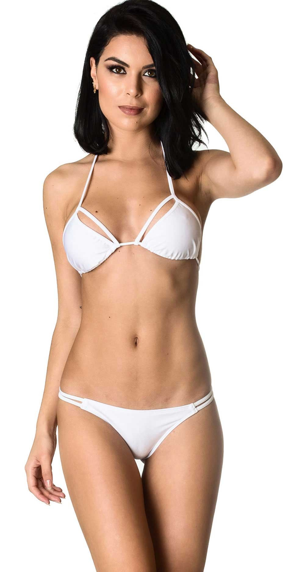 Rumba Bottom & Unpadded Top - White