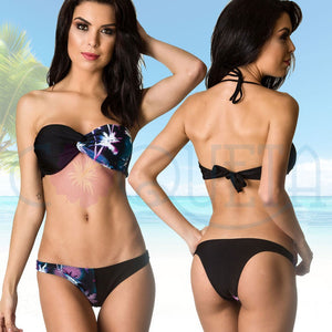 Palms - Hipster Bottom & Bandeau Twisted Top