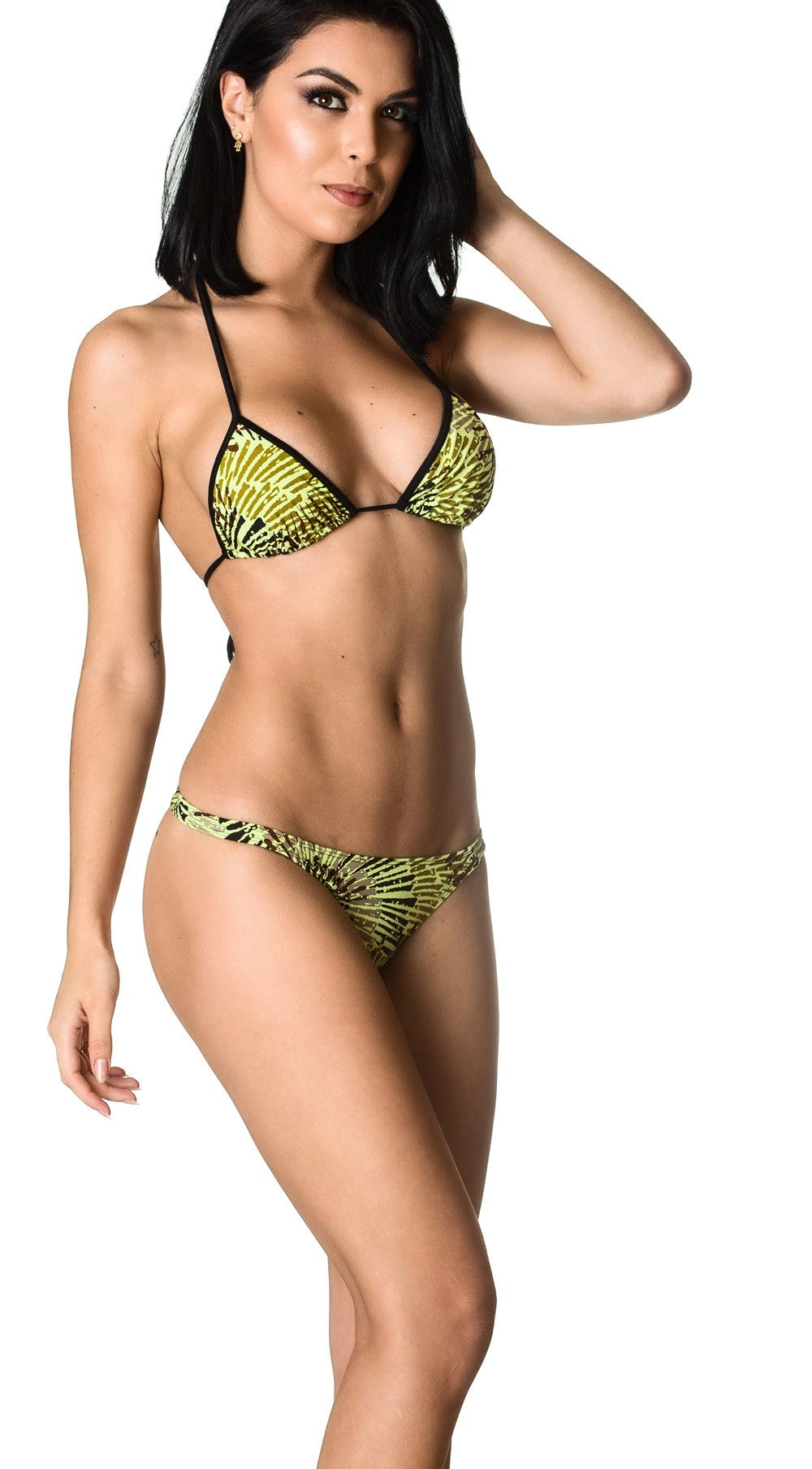Bamboo - Thong Bottom & Tri Top SET