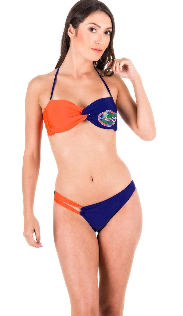 UF - Low Rise Bikini Set & Twist Bandeau