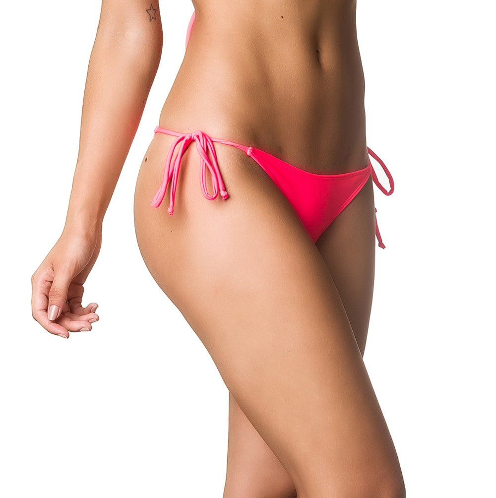 Teeny Thong Whaletail Bottom - Coral