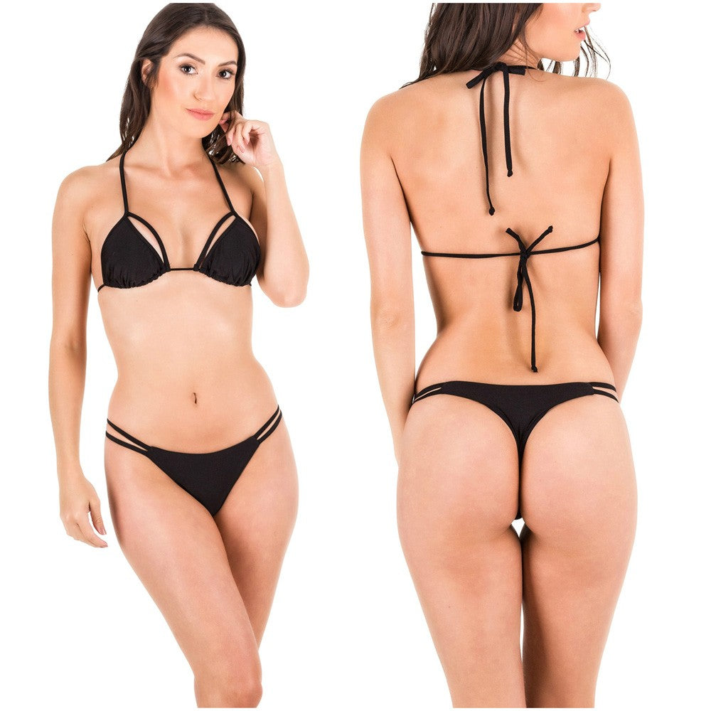 Rumba Bottom & Unpadded Top - Black