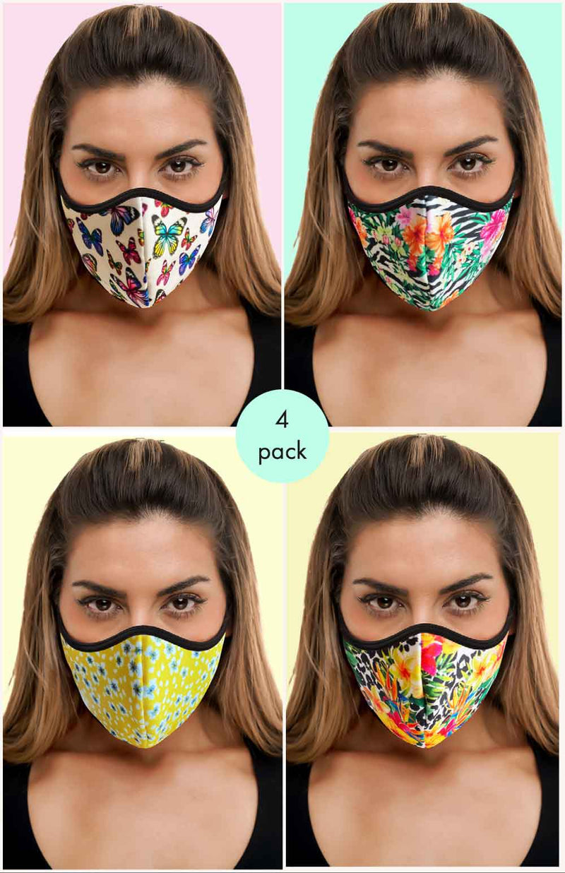 Crisscross 4 pack - FACE MASK