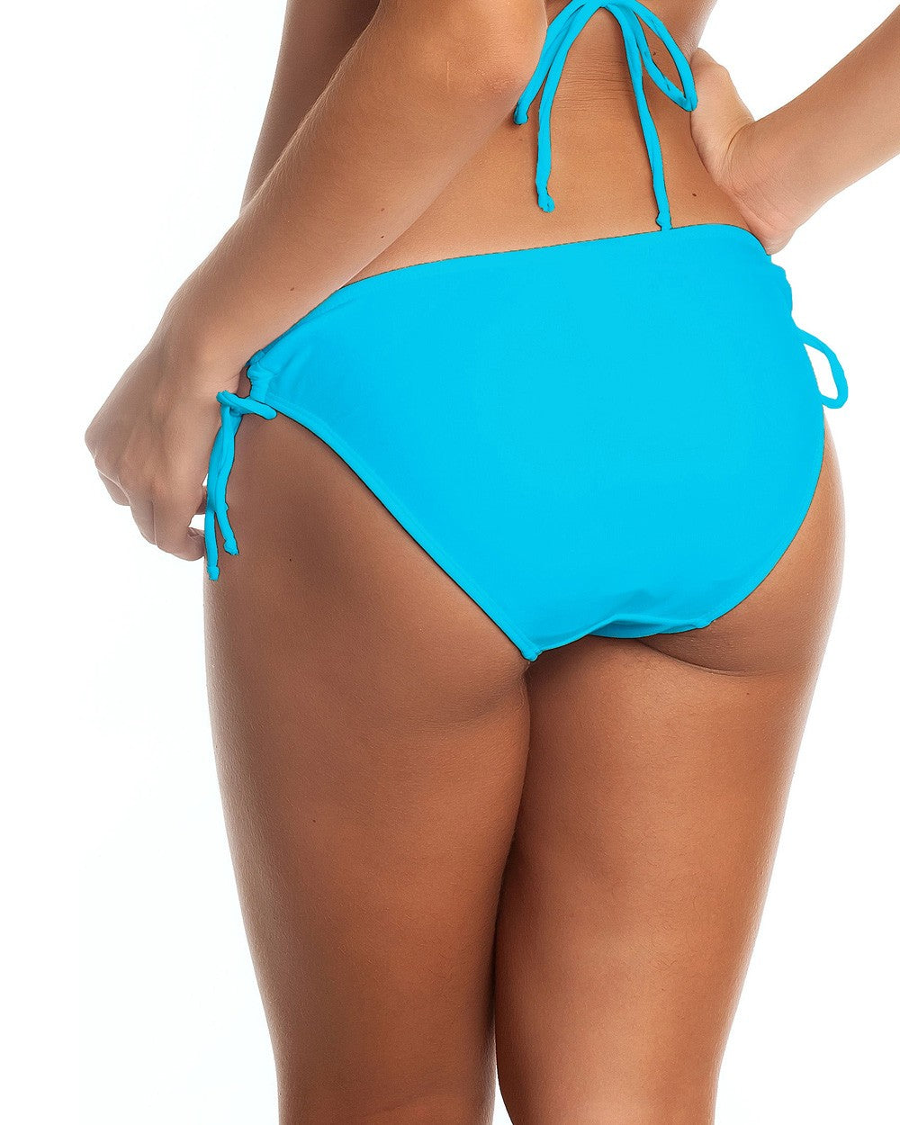 Turquoise - Keyhole Bow Moderate Coverage
