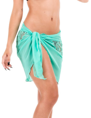 Tiffany - Crochet Short Sarong