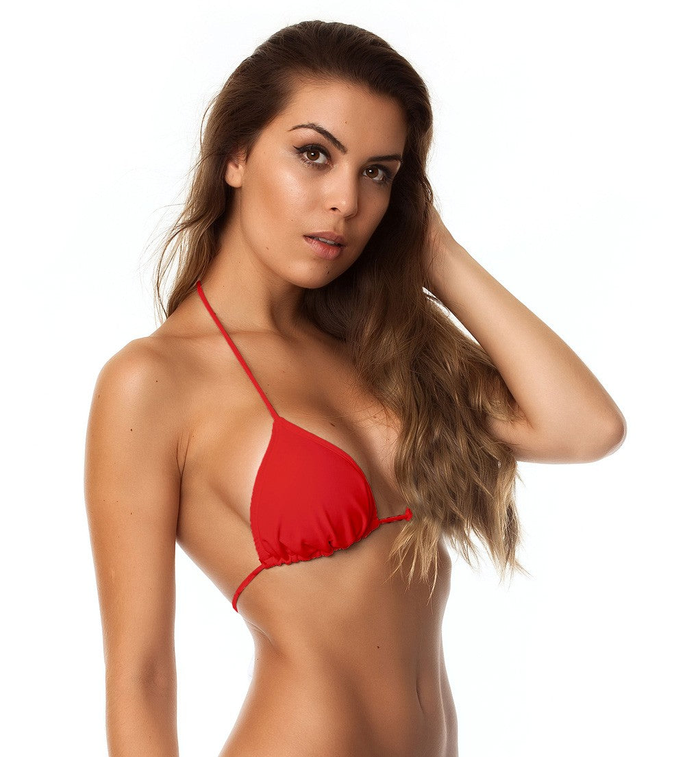 Red - Classic Tri Top - Padded