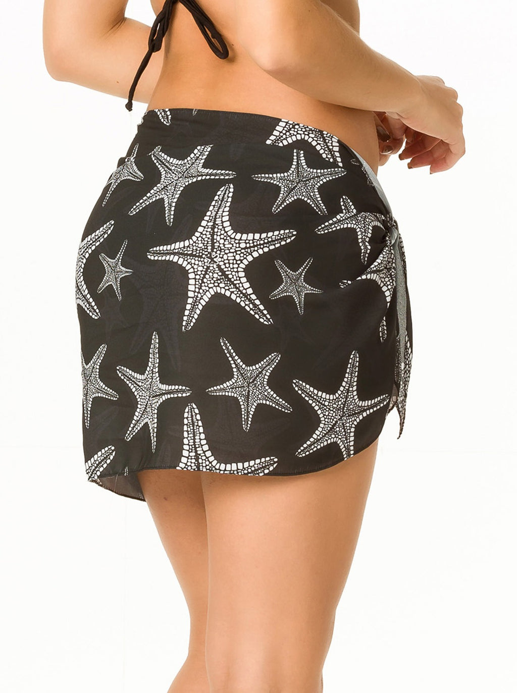 Sea Star - Chiffon Short Sarong