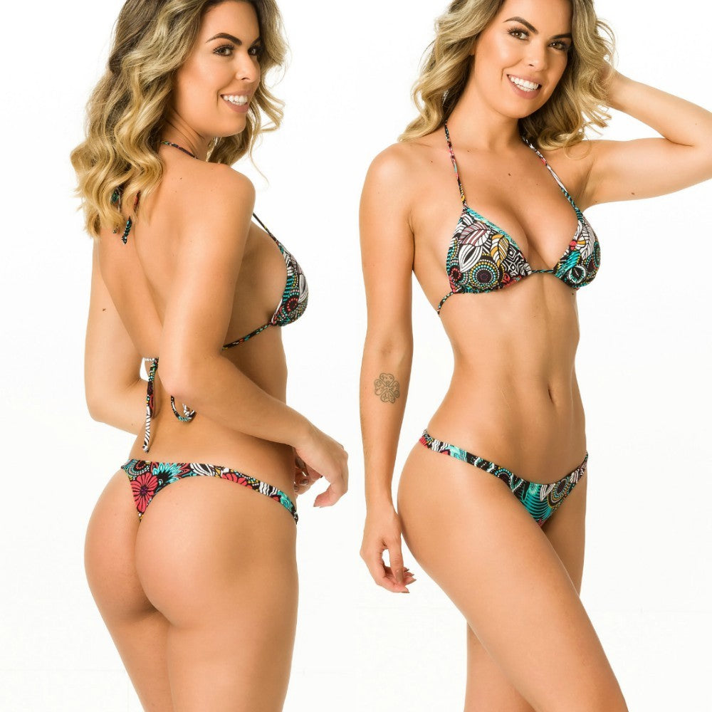 Aloha - Thong Bottom & Tri Top SET