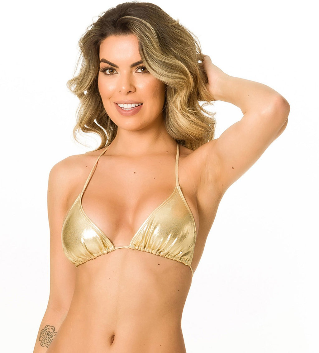 Gold - Triangle Top Unpadded