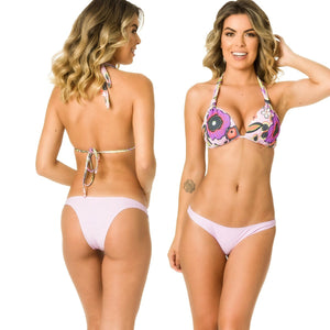 Hipster Bottom & Halter Top SET - Botanical