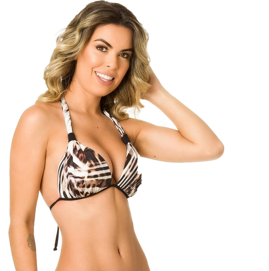 Africa - Halter Push up Top