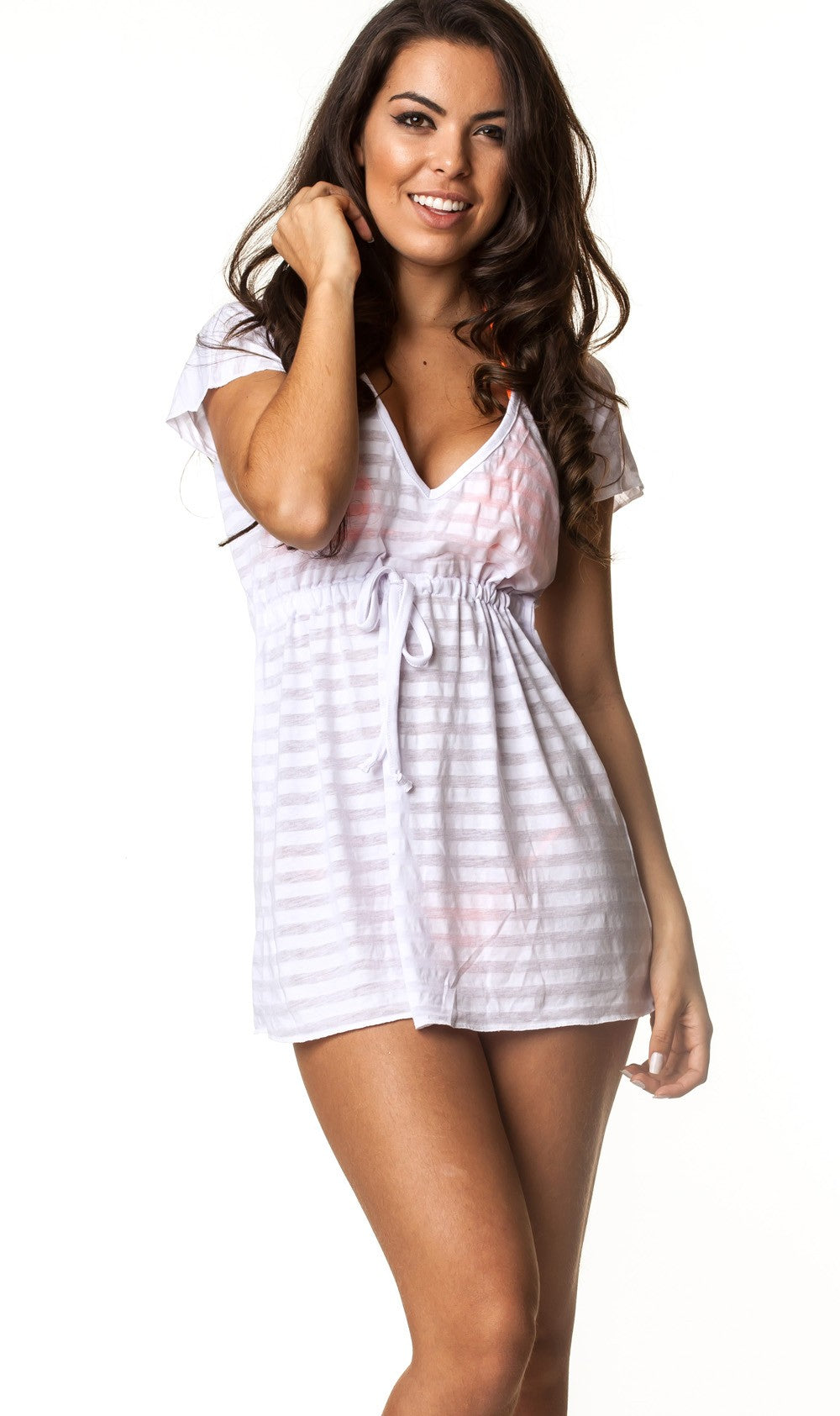 White 230 Coqueta Dress