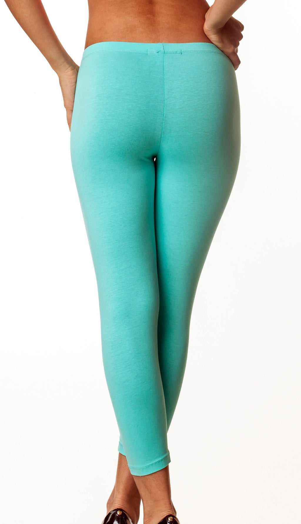 Aqua Full Length Legging Cotton 417