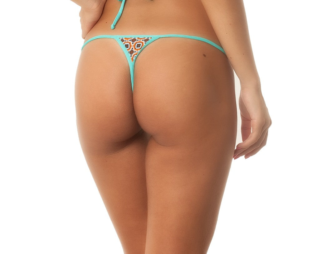 AquaMarine Micro Thong Bottom