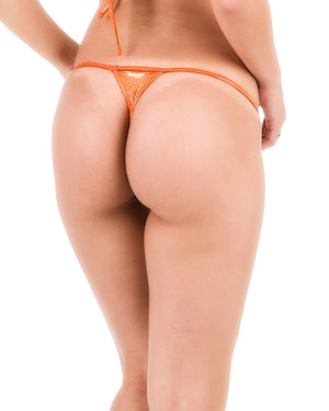 Copper Sequins - Micro Thong Bottom