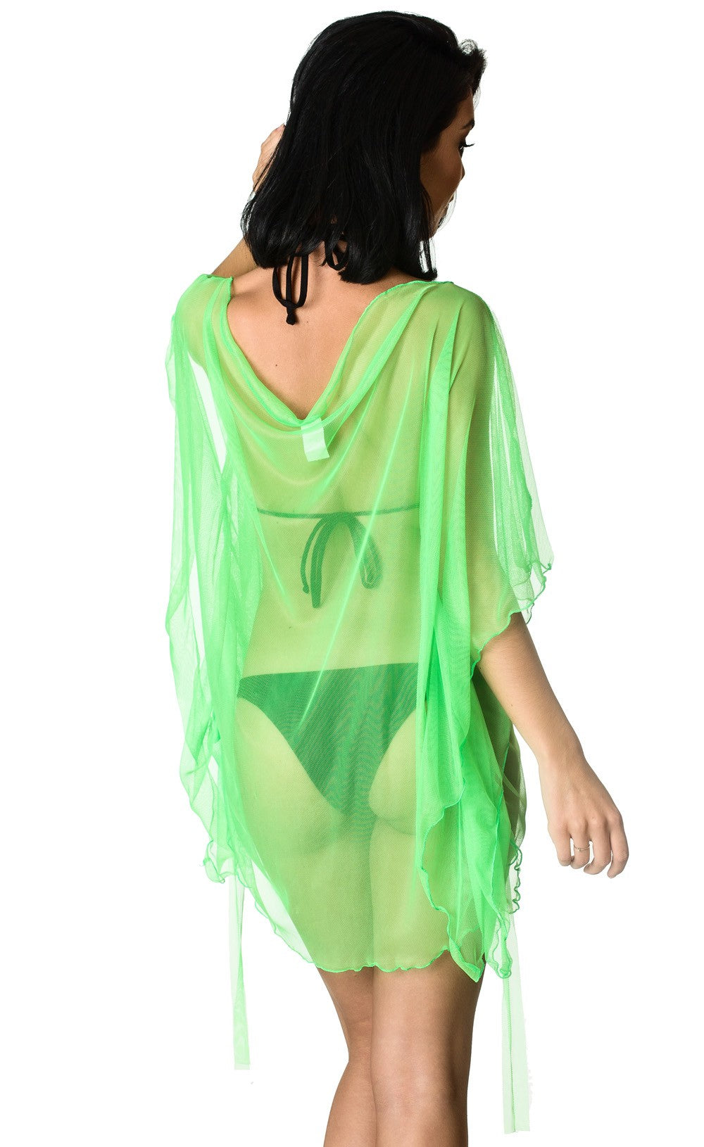 Cover Up Dress Green