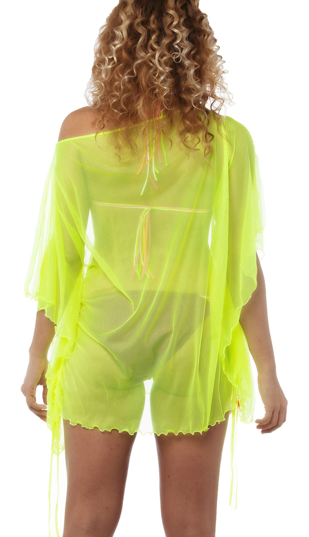 Cover Up Dress Neon Yellow