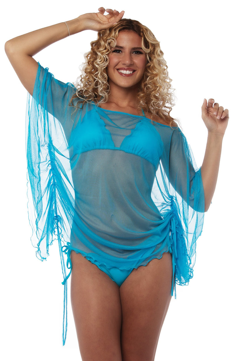 Cover Up Dress Turquoise