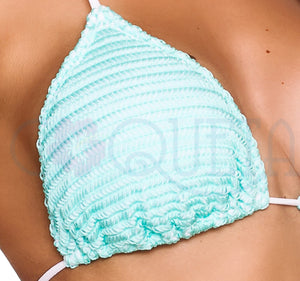 Crochet Aqua - Triangle Top