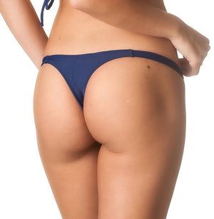 Navy - Teeny Thong Bottom