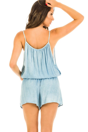 Romper - Light Denim