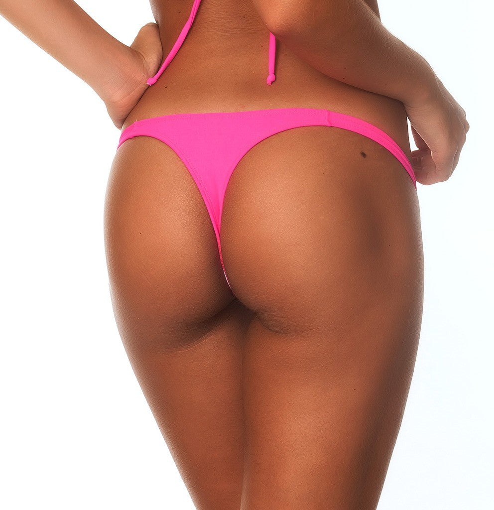 Hot Pink - Teeny Thong Bottom