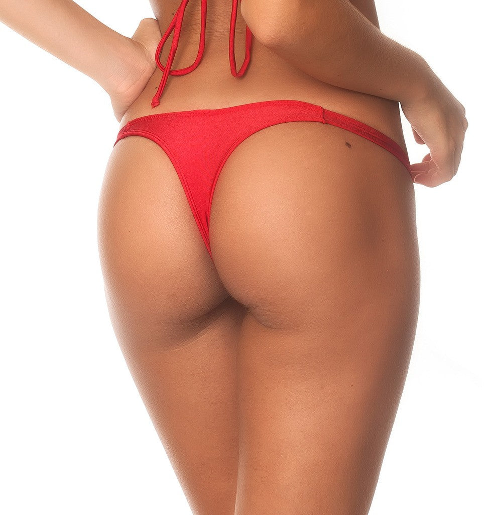 Red - Teeny Thong Bottom