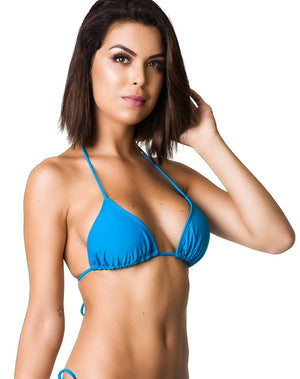 Blue - Triangle Top Unpadded