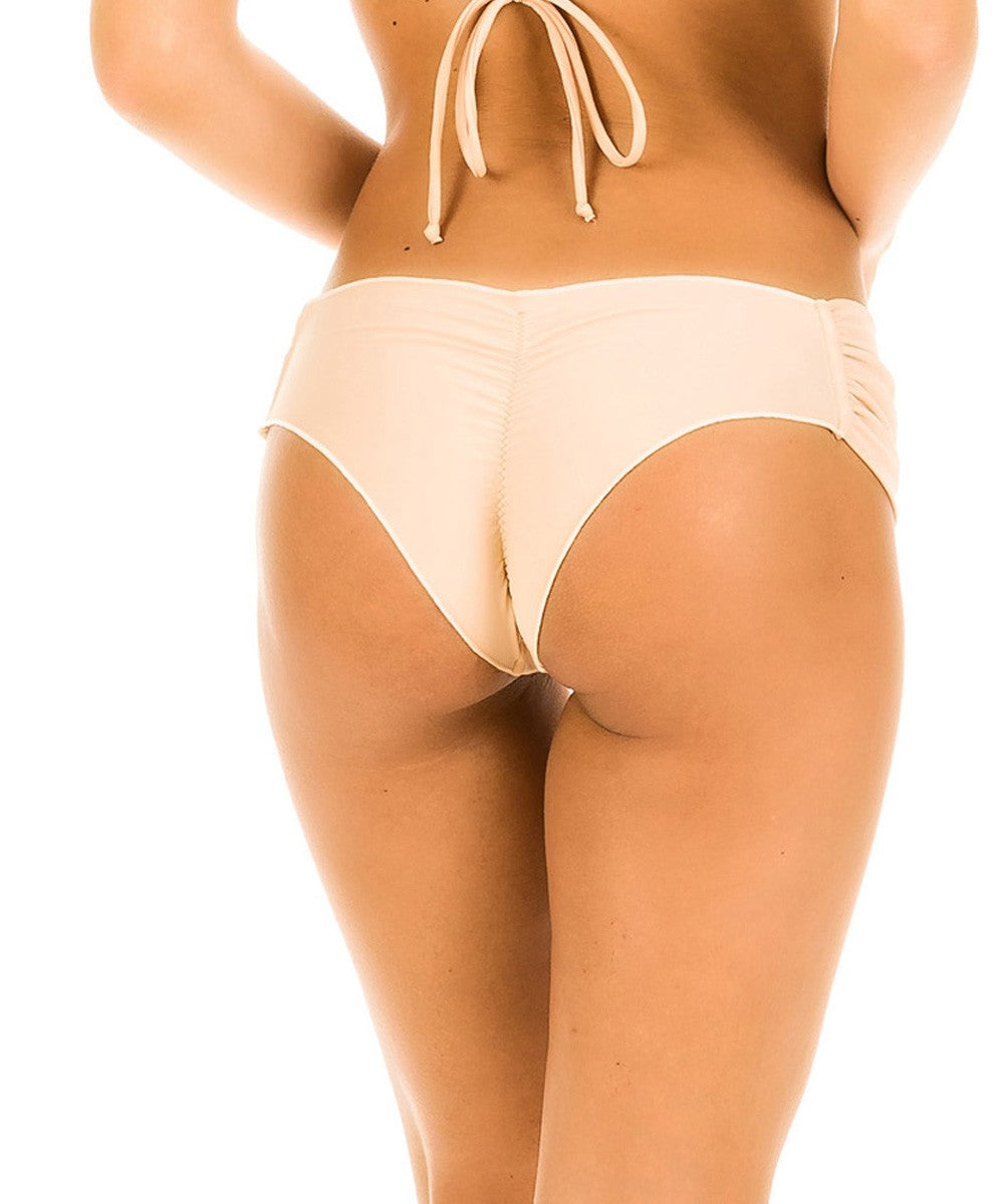 Pink Sand - Ruched Retro Bottom