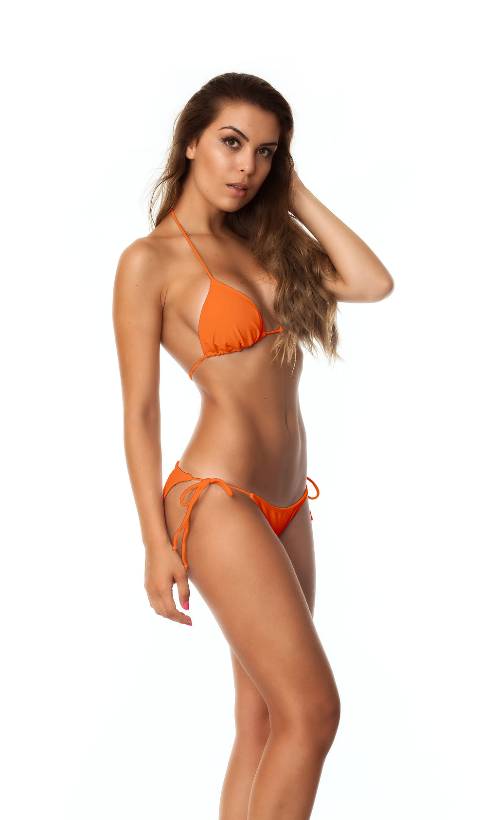 Moderate Tie Sides & Top SET - Orange